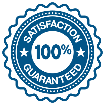 100% satisfaction guaranteed icon