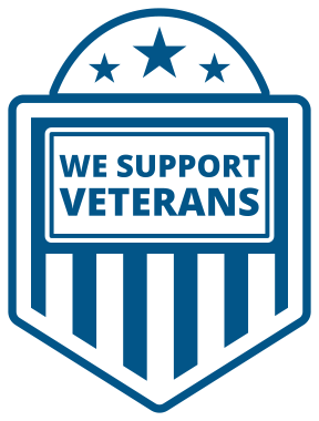 we support veterans icon